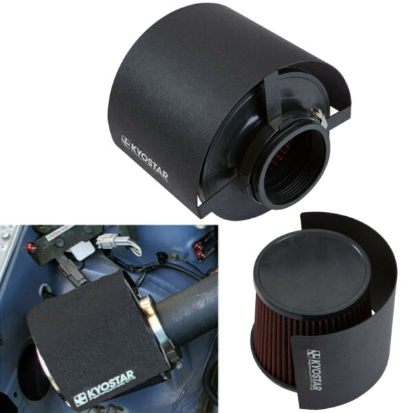KYOSTAR Steel Cone Air Filter Heat Shield Cover For 2.25quot; 3.5quot; Dia. Cone Filter $26.99