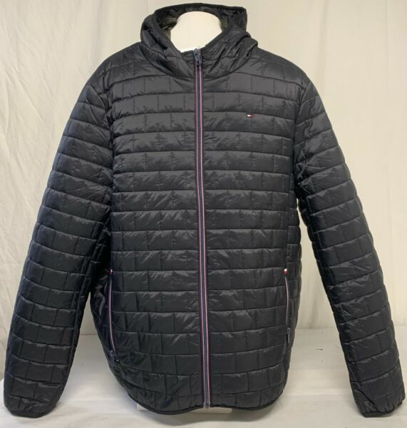 *NEW* Tommy Hilfiger Men#x27;s Brick Quilted Jacket $48.95