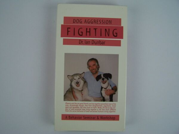 Dog Aggression: Fighting VHS Video Tape $19.99