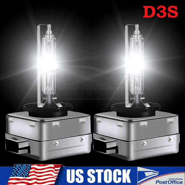 D3S D3R Xenon White HID Headlight Bulbs For Dodge Challenger Charger 2015 2020