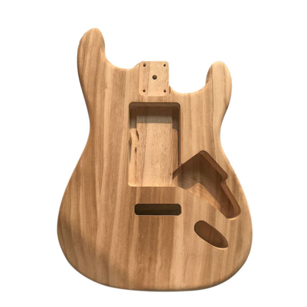 Electric Maple Guitar Barrel Body Unfinished Electric for ST Style Guitar W5E9 $34.99