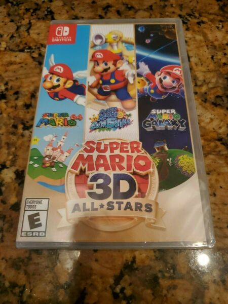 Super Mario 3D All Stars Switch BRAND NEW  PHYSICAL IN HAND. Ships tomorrow.