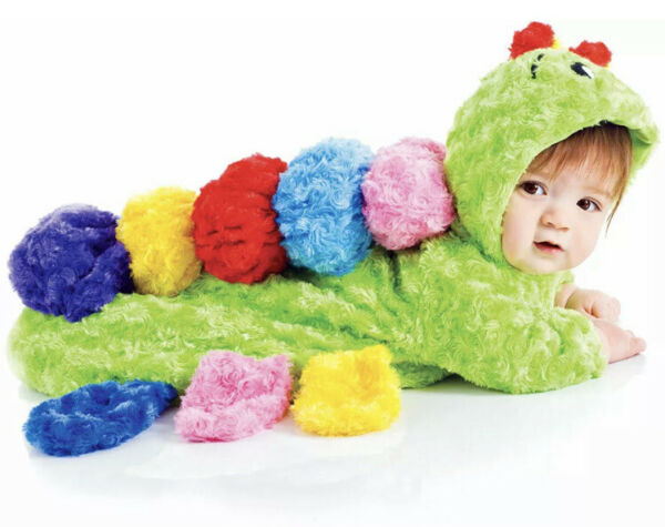 Colorful Caterpillar 0 6 Months Baby Bunting Halloween Costume NEW In Package