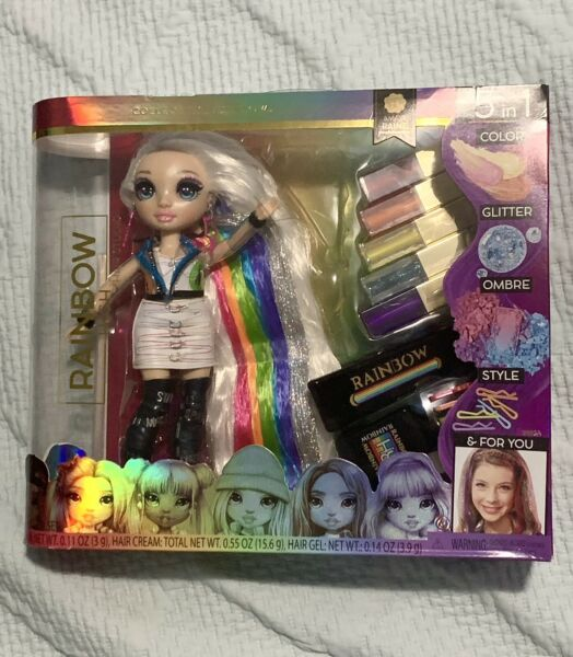 NEW amp; SEALED Rainbow High Doll Hair Studio Amaya Raine 5 in 1 Doll Free Shipping