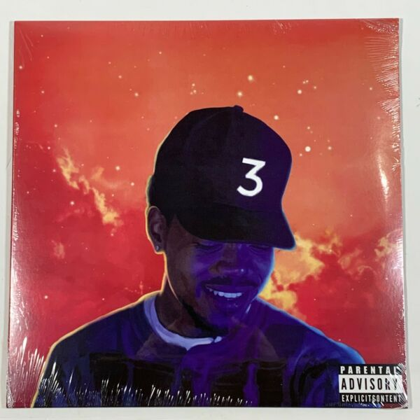 Chance The Rapper Coloring Book 2LP Vinyl Limited Red 12quot; Record