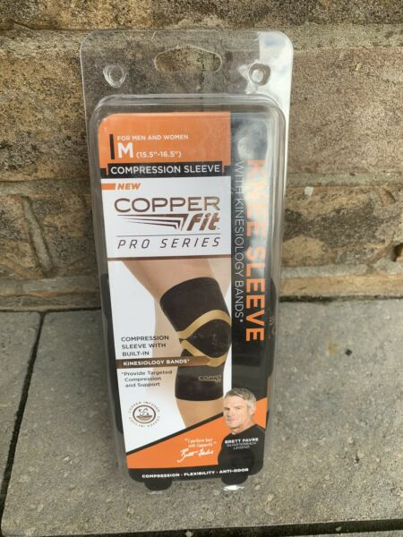 Copper Fit Pro Compression Knee Sleeve Medium