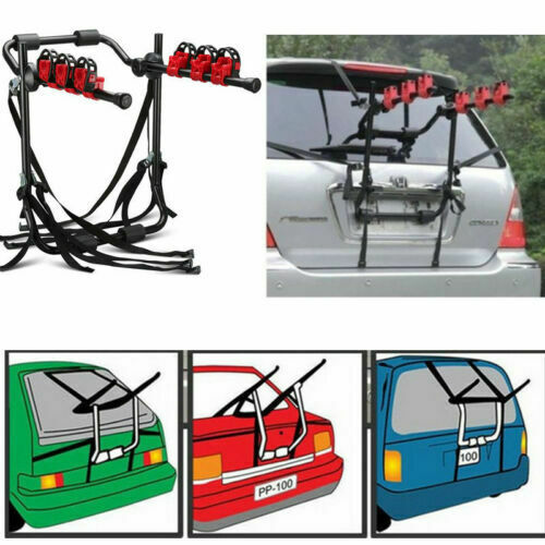 SUV Car Trunk hitch Bike Mount Rack Hatchback 3 Bicycle Bike Carrier Holder US $49.99