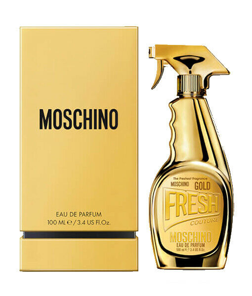Moschino Fresh Gold Couture by Moschino for Women 3.4 oz EDP Spray NEW in box $39.99