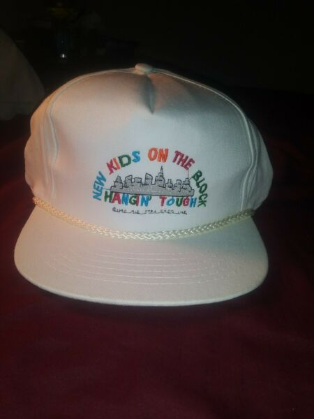Vintage New Kids On The Block Hat Hangin Tough Tour Hat Painters Hat