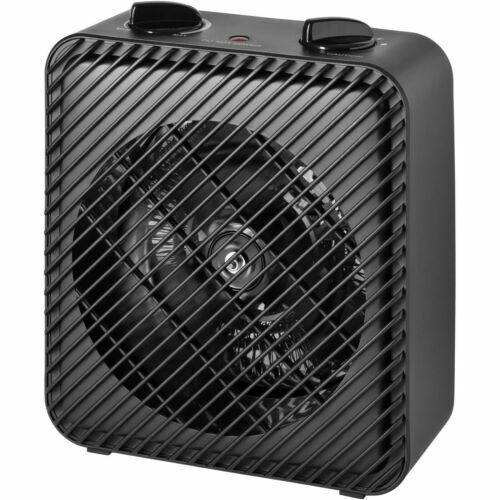 1500W PORTABLE ELECTRIC HEATER Home Fan Forced Heating W Adjustable Thermostat $26.92