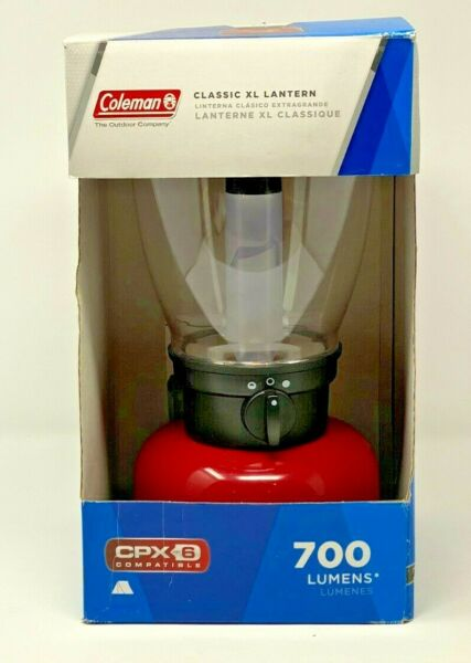 Coleman Electric Lantern Classic XL Red Tested C $22.74