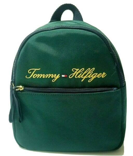 Tommy Hilfiger Women#x27;s Backpack Small Block Bag Canvas $29.99