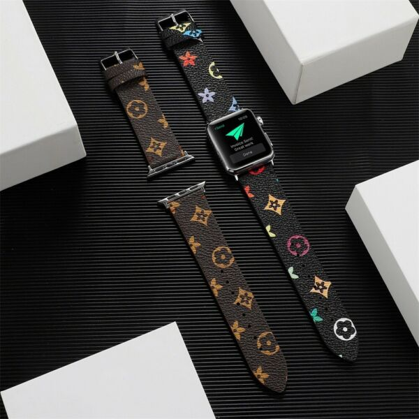 Apple Watch Band Leather Strap For Series 6 5 4 3 2 1 38 40mm 42 44mm $17.99