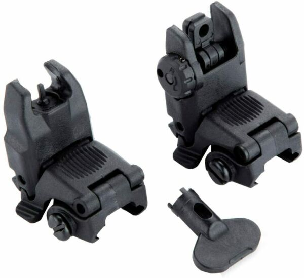 Gen2 Front and Rear Flip Up Sights Fit For MBUS MAG247BLK MAG248BLK $20.69