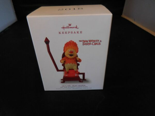 2018 Hallmark He#x27;s Mr. Heat Miser The Year Without a Santa Claus