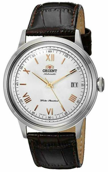 Orient Men#x27;s 2nd Gen. Bambino Automatic Stainless Steel Watch FAC00008W0 NEW $99.99