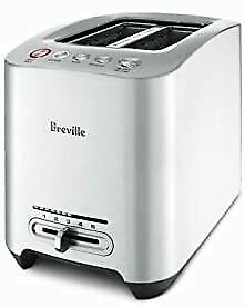 Breville Die Cast 2 Slice Smart Toaster Brushed Stainless Steel FreeShipping