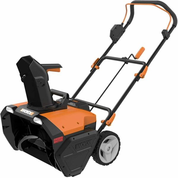 WG471 40V 2X20V 20quot; Cordless PowerShare Snow Thrower with Brushless Motor