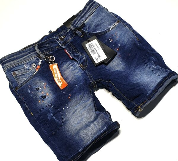 #TOP DSQUARED2 MENS JEANS #NEW ONES #KEYRING #BLUE COLOR #ORANGE EMBLEMS #009 GBP 36.00