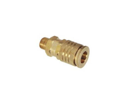Grip Rite 3 8 in. Universal Brass Coupler Male NPT GRF38MCUD2 $6.95