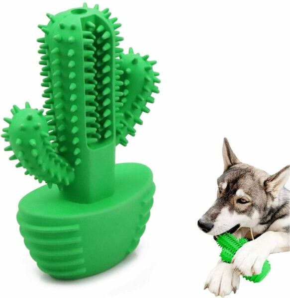 Dog Toothbrush Stick Dog Teeth Cleaning Chew Toys Pet Oral Dental Care Cleaner $15.99