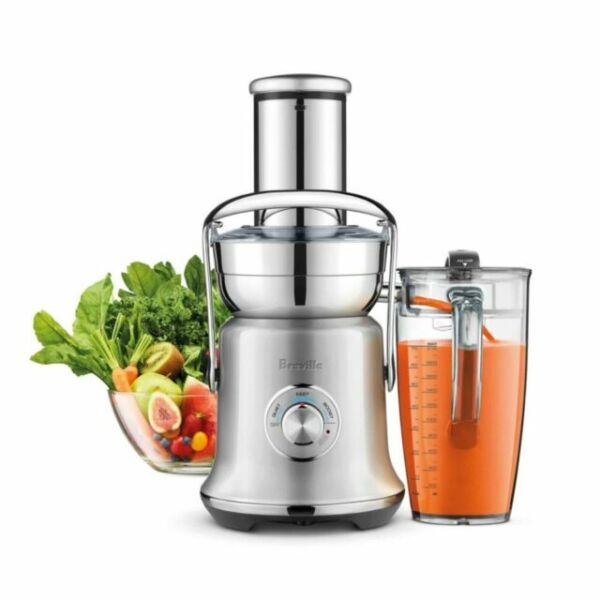 Breville BJE830BSS Juice Founatin Cold XL Centrifugal Juicer Brushed Stainless