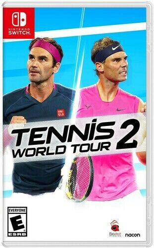 Tennis World Tour 2 for Nintendo Switch New Video Game $39.99
