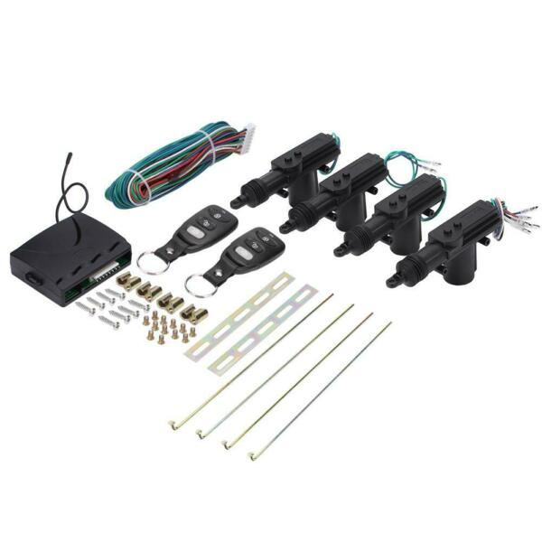 Car Remote Central Door Lock Keyless Entry System Kit with 2 Remote Controller $28.38
