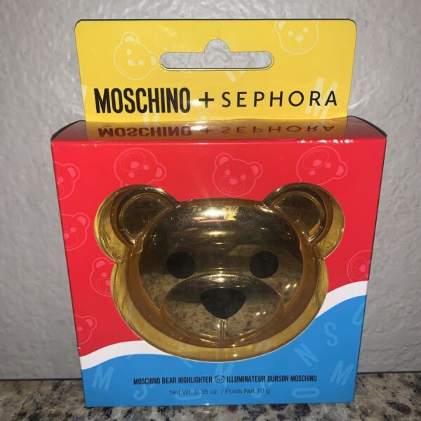 Moschino Sephora Bear Highlighter Duo BNIB $42.99