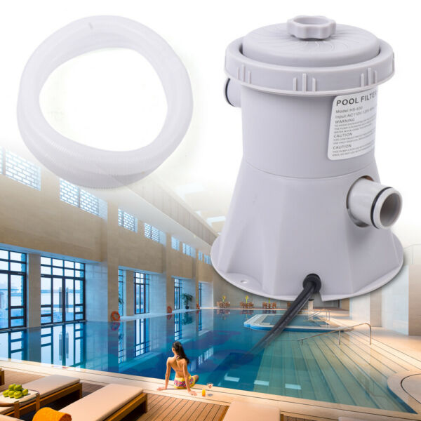 Electric Filter Pump Swimming Pool for Above Ground Pools Water Circulating Tool $44.00