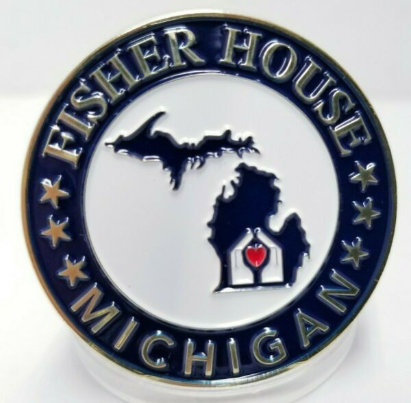 Fisher House Steve Striggow Department Commander 1.75quot; Challenge Coin $11.40
