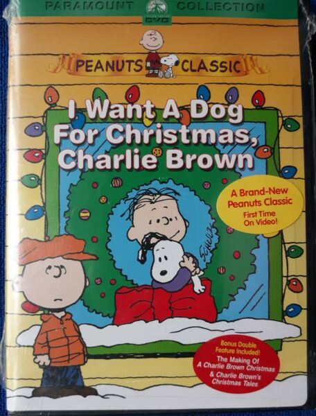 I Want A Dog For Christmas Charlie Brown Brand New $15.00