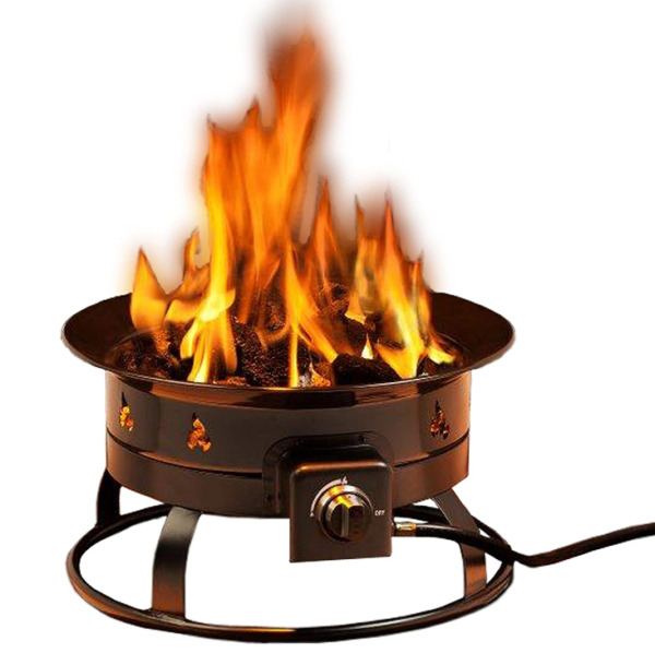 Heininger 5995 58000 BTU Portable Propane Outdoor Fire Pit New