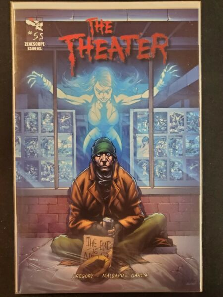 The Theater #5 Zenescope VF NM Comics Book
