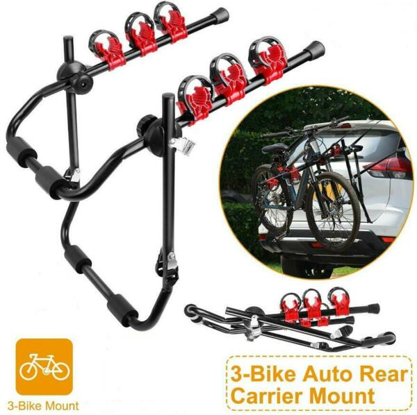RACK 3 BIKE HITCH MOUNT Carrier Trailer Car Truck SUV Receiver Bicycle Transport $47.50
