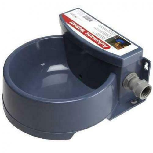 Automatic Pet Waterer Outdoor Cat Water Dispenser Auto Dog Bowl Dish Supplies $23.85