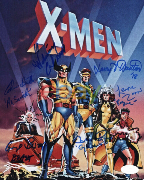 CAL DODD Cast X6 Signed X MEN ANIMATED SERIES 8x10 Photo Autographed reprint
