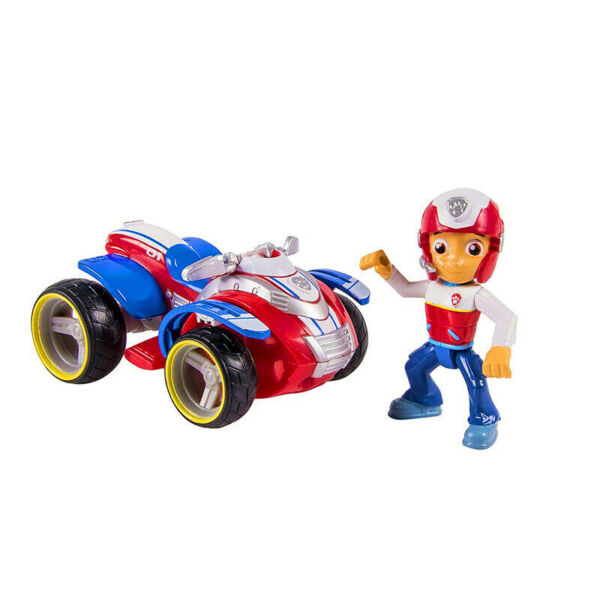 Paw Patrol toys Ryder#x27;s Rescue ATV Vehicle and Figure figures toy Puppy Dog Toys