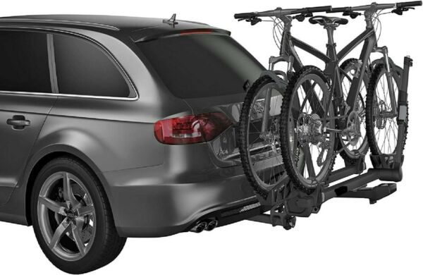 Premium platform hitch bike rack for 2 bikes Load Capacity 120 pounds $988.99