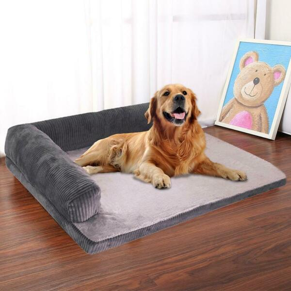 Dog Bed Soft Pet Cat Dog Sofa Beds Big Dog Kennel Cushion Mat Puppy German Sheph $58.14