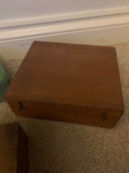 Vintage Boxes X 3 And Contents