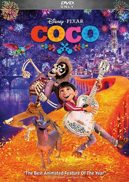 Coco DVD 2018 Pixar FREE Shipping New amp; Sealed w Slipcover
