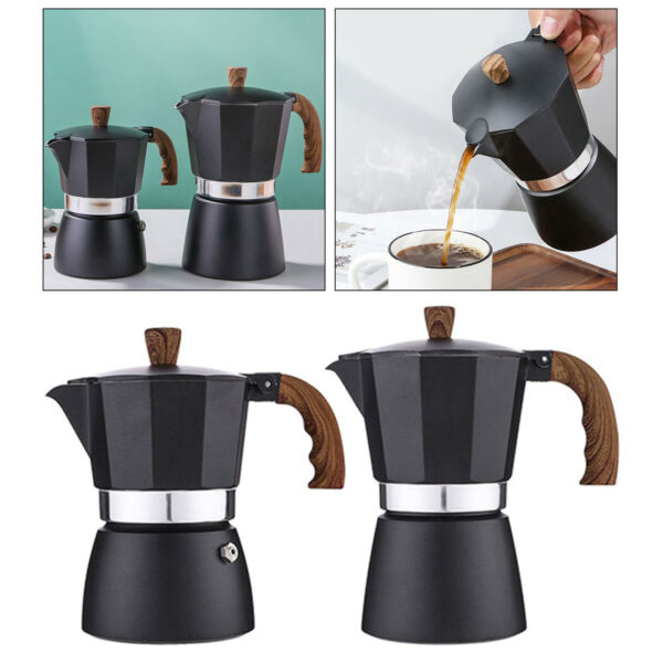 Percolator Coffee Maker Pot Brew Coffee Stovetop for Home Camping Travel