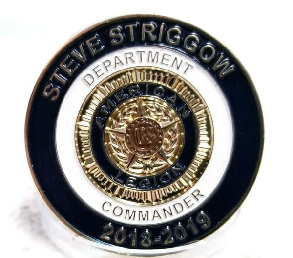 FISHER HOUSE MICHIGAN STEVE STRIGGOW CHALLENGE COIN $13.78