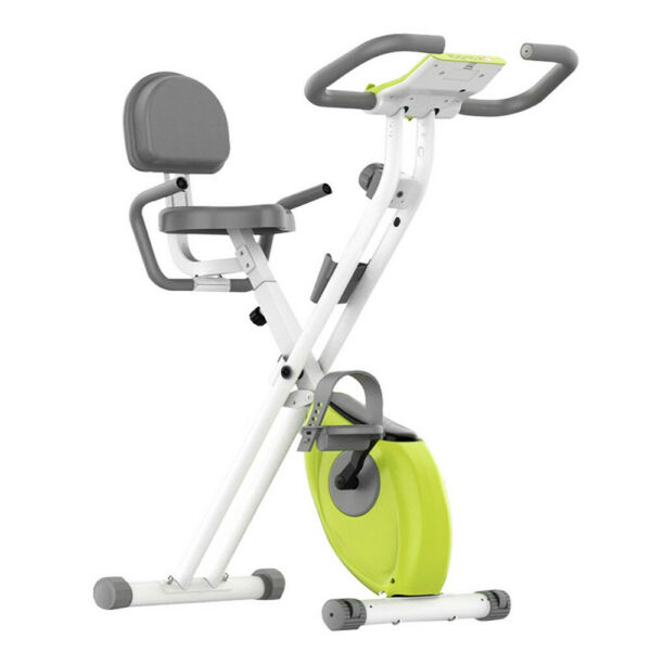 8 Level Exercise Bike Indoor Cycling Bicycle Cardio Foldable Gym Workout Fitness $144.99