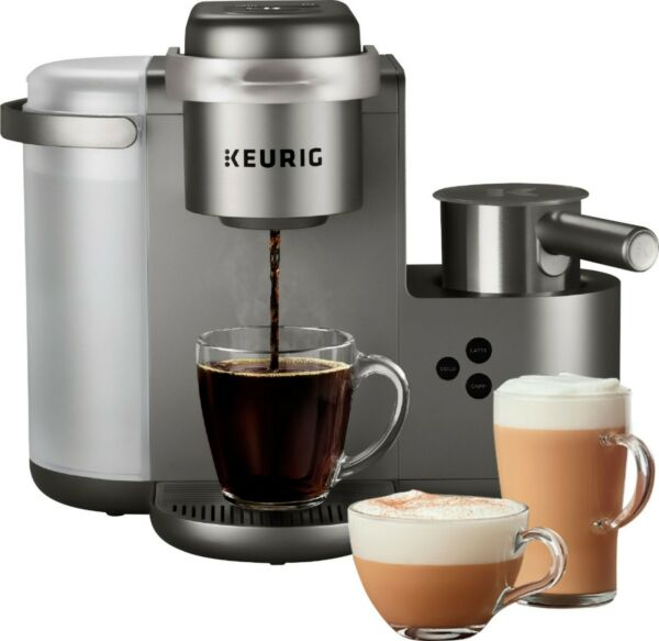 Keurig K Cafe Special Edition Single Serve K Cup Pod Coffee Maker with Milk...