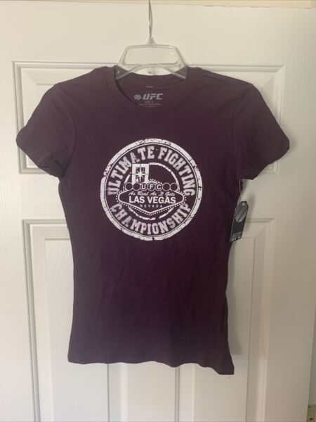 UFC Womens Purple Small T Shirt Las Vegas New With Tag $5.00