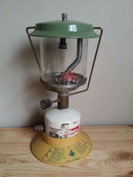 Coleman Single Mantle AFC Model 1032 Propane Lantern Vintage