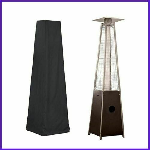 Patio Heater Cover Waterproof Pyramid Flame Gas Heater Dust Cover UV Protector