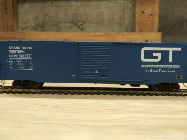 HO Scale 60#x27; PS 1 SD Boxcar Grand Trunk Western Blue $37.00